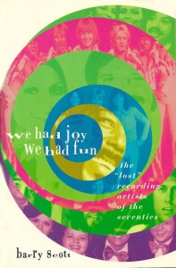 """We Had Joy, We Had Fun"" – Barry's Book!"