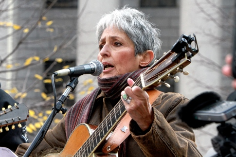 11/12/11 – Joan Baez occupies Wall Street