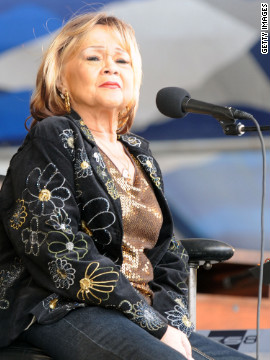 1/20/12 – Etta James has died.
